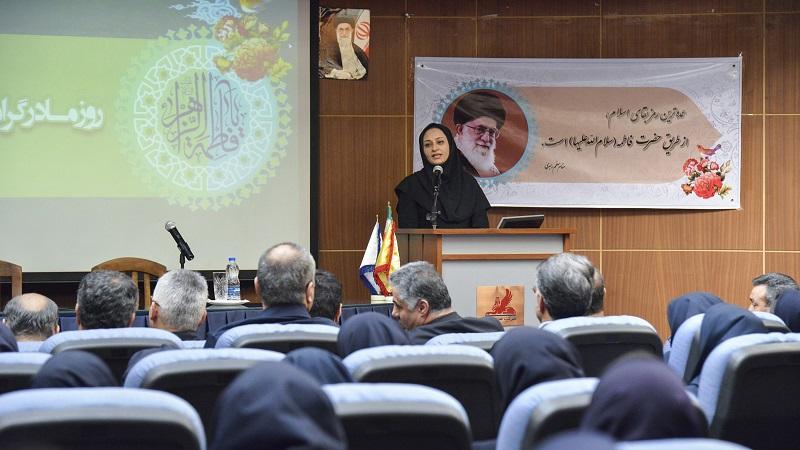 مراسم گراميداشت روز زن در پالايشگاه نفت پارس