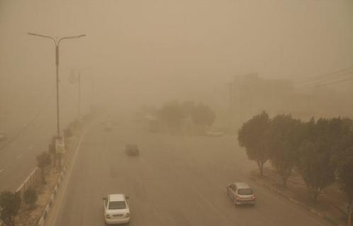 تداوم غبار در 8 شهر کشور تا پایان هفته