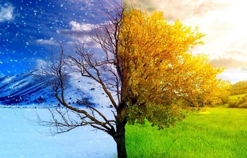 تغییر فصل ها به دست بشر